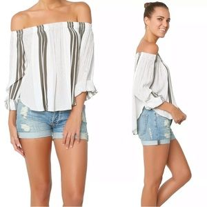 Faithful The Brand Devin Off The Shoulder Top